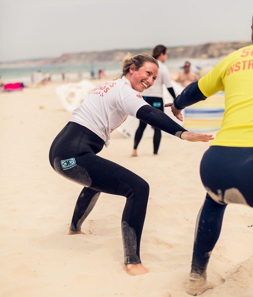 Surfglädje på surfcamp